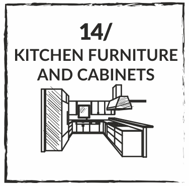 WE PROPOSE KITCHEN FURNITURE AND CABINETS
