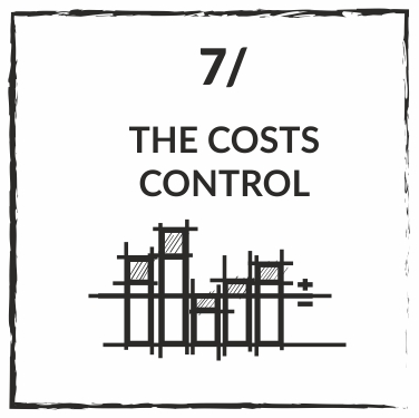 YOU CONTROL THE COSTS